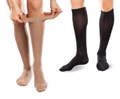 EASE by Therafirm<sup>®</sup> Gradient Compression Hosiery from PEL