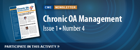 Chronic OA Management: Vol 1, Number 4