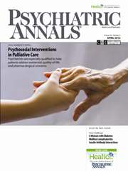 Psychiatric Annals April 2012