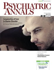 Psychiatric Annals Cover May 2012