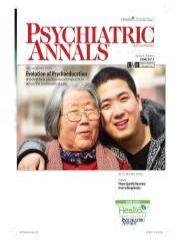 Psych Annals June 2012 Cover