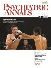 Psychiatric Annals October 2012 Cover