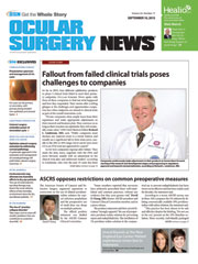 Ocular Surgery News September 10, 2015