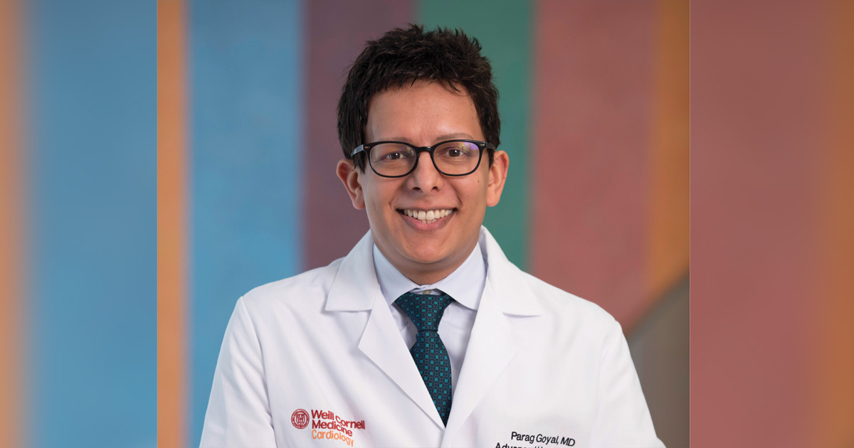 Parag Goyal, MD, MSc, FACC, from Weill Cornell Medicine, is one of several cardiologists working on a more comprehensive CV medication approach for older patients.