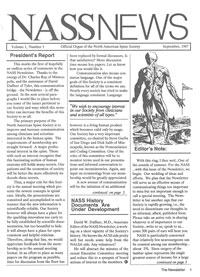 The first issue of NASSNews