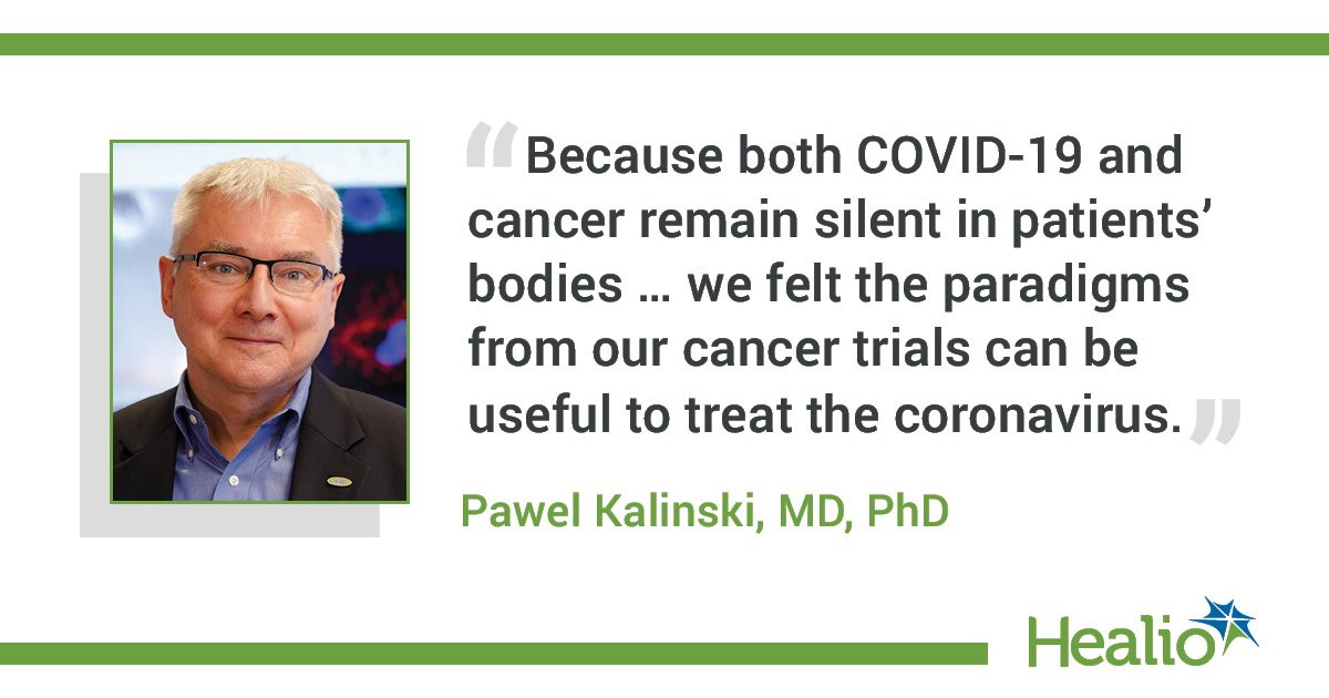 Immunotherapy Combination Could Help Patients With Cancer Fight Covid 19