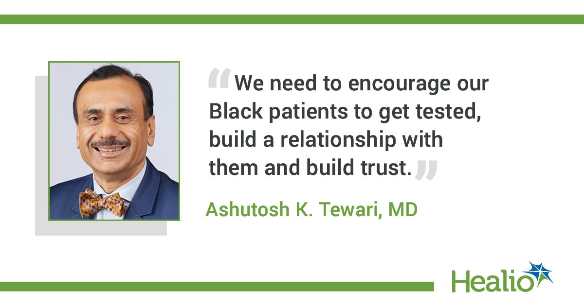 Ashutosh K. Tewari, MD, chair of the department of urology at Mount Sinai Health System