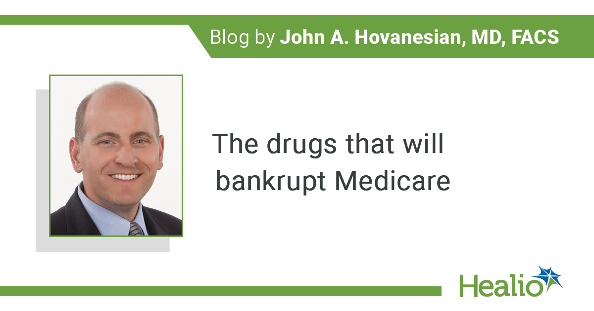 BLOG: The drugs that will bankrupt Medicare