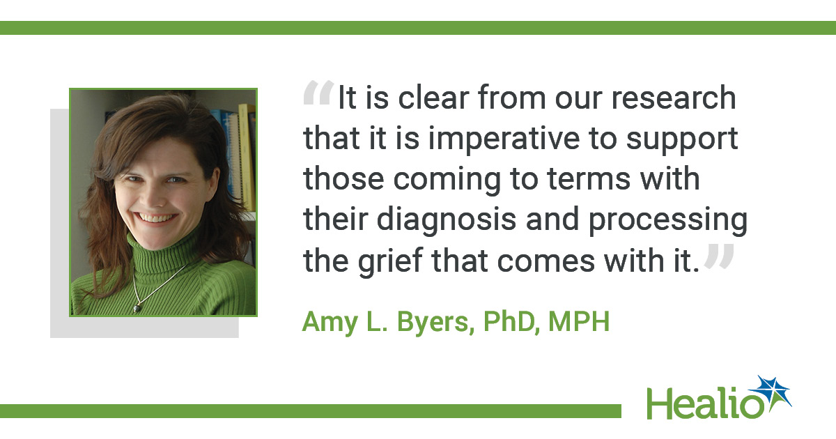 infographic with quote from Amy L. Byers