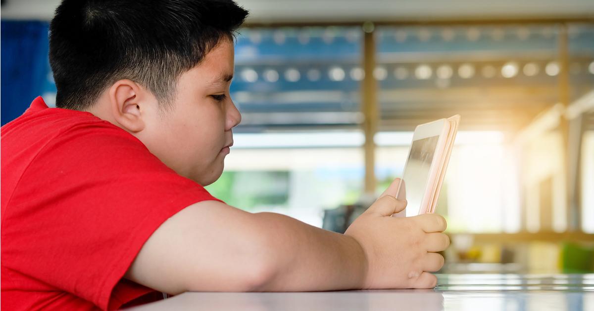 Obesity boy 2020