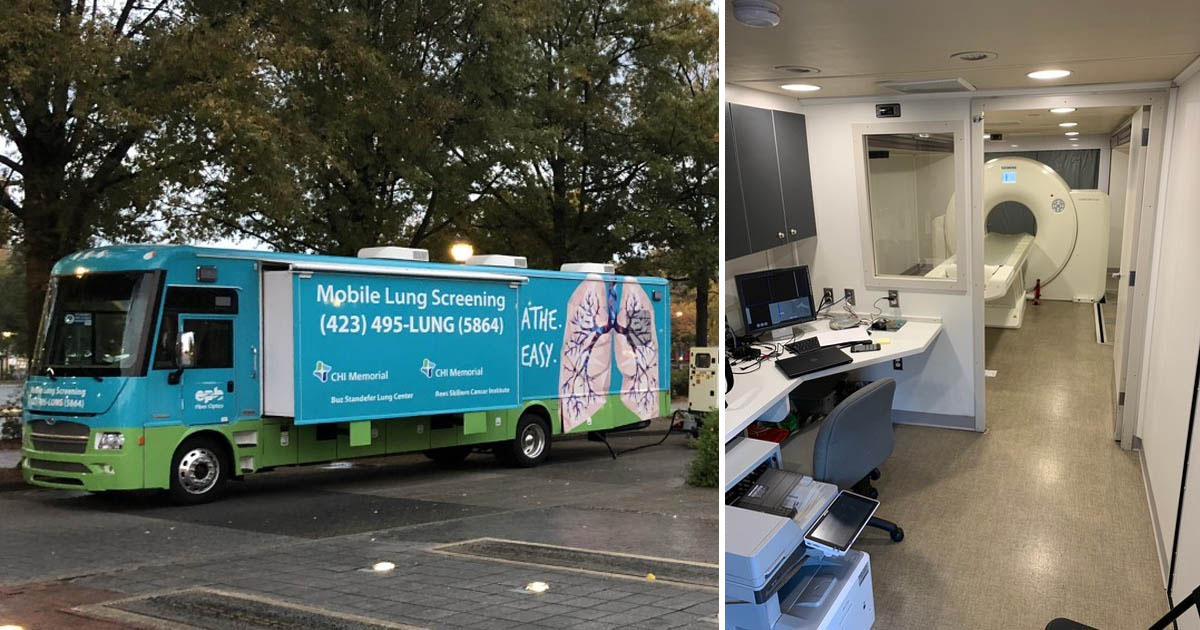 J. Rob Headrick, MD, MBA, and colleagues sought to make such screening available to a broader population by rolling out a novel mobile screening bus equipped with a low-dose CT scanner.