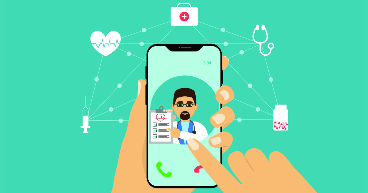 Mobile device with doctor
